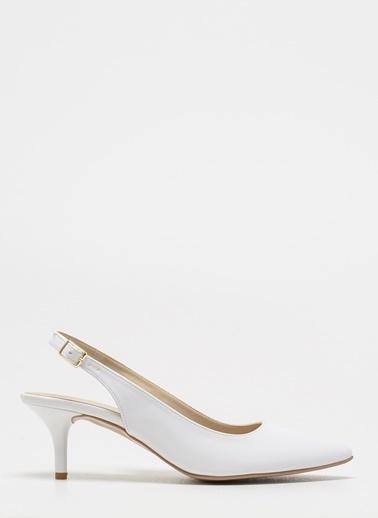 D by Divarese Sandalet Beyaz
